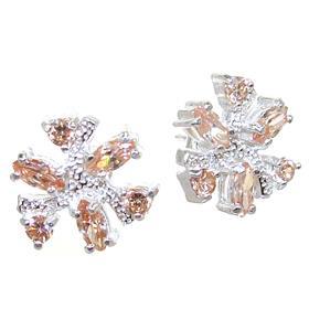 Sunny Quartz Sterling Silver Earrings