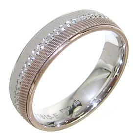 Modern Plain Sterling Silver Ring size L 1/2
