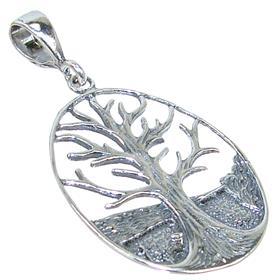 Fancy Sterling Silver Pendant