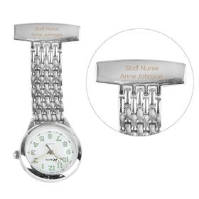 Personalised Nurses Fob Watch