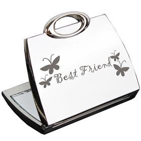 Best Friend Handbag Compact Mirror