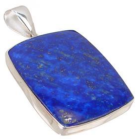 Lapis Lazuli Sterling Silver Pendant