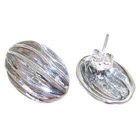 Sterling Silver Earrings Stud
