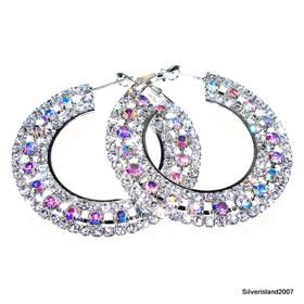 Madagascar Fire Quartz Earrings Fashion Jewellery