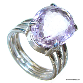 Amethyst Sterling Silver Ring size Q