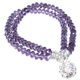 Amazing Amethyst Quartz Stretch Bracelet