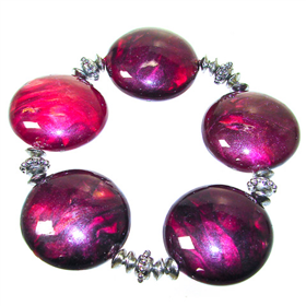 Assorted Bobble Bead Stretch Bracelet