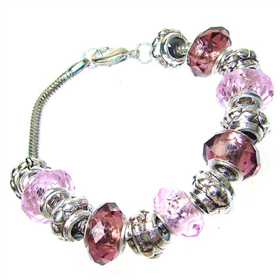 Mixed Bead Quartz Fashion Bracelet