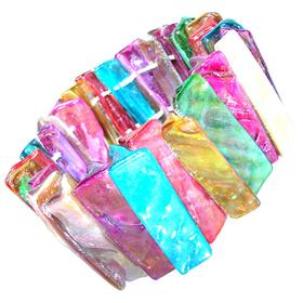 Rainbow Abalone Stretch Bracelet