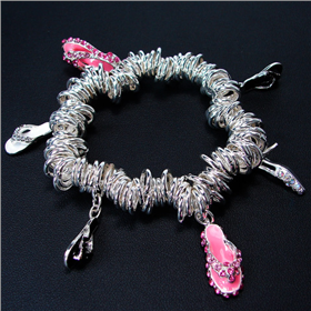 Assorted Charms Fashion Bracelet