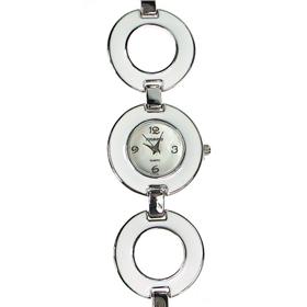Boxed Ladies Figaro Bracelet Watch