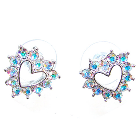 Shining Crystal Stud Fashion Earrings