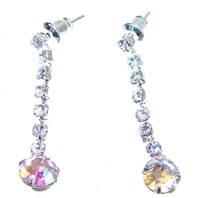 Shining Crystal Fashion Earrings