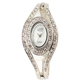 Eton Boxed Round Diamente Bracelet Watch