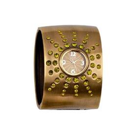 Eton Boxed broad bangle/stone LN Watch
