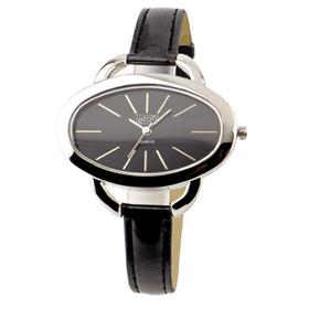 Eton Boxed Round Case Leather Straps Watch