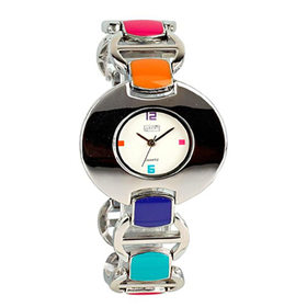 Eton Boxed Gemstone Bracelet Watch