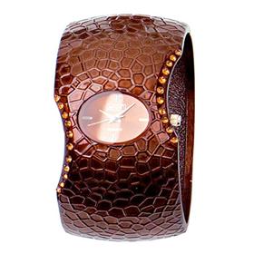 Eton Boxed bangle bracelet stone Watch