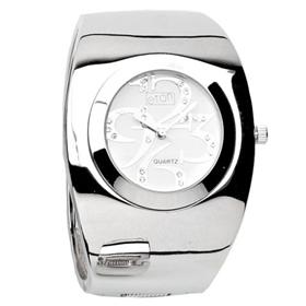 Eton Boxed Round Case Large Bangle Watch
