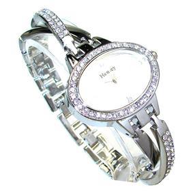 Henley Boxed Round Diamente Bracelet Watch