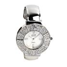 Eton round case bangle with diamante Watch