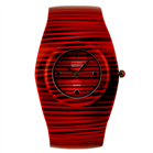 Eton Boxed lined effect painted bangle Watch