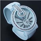 Eton Coloured Plactic bangle with diamante Watch